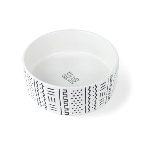 Best Dog Ceramic Bowl by Fringe Studio
