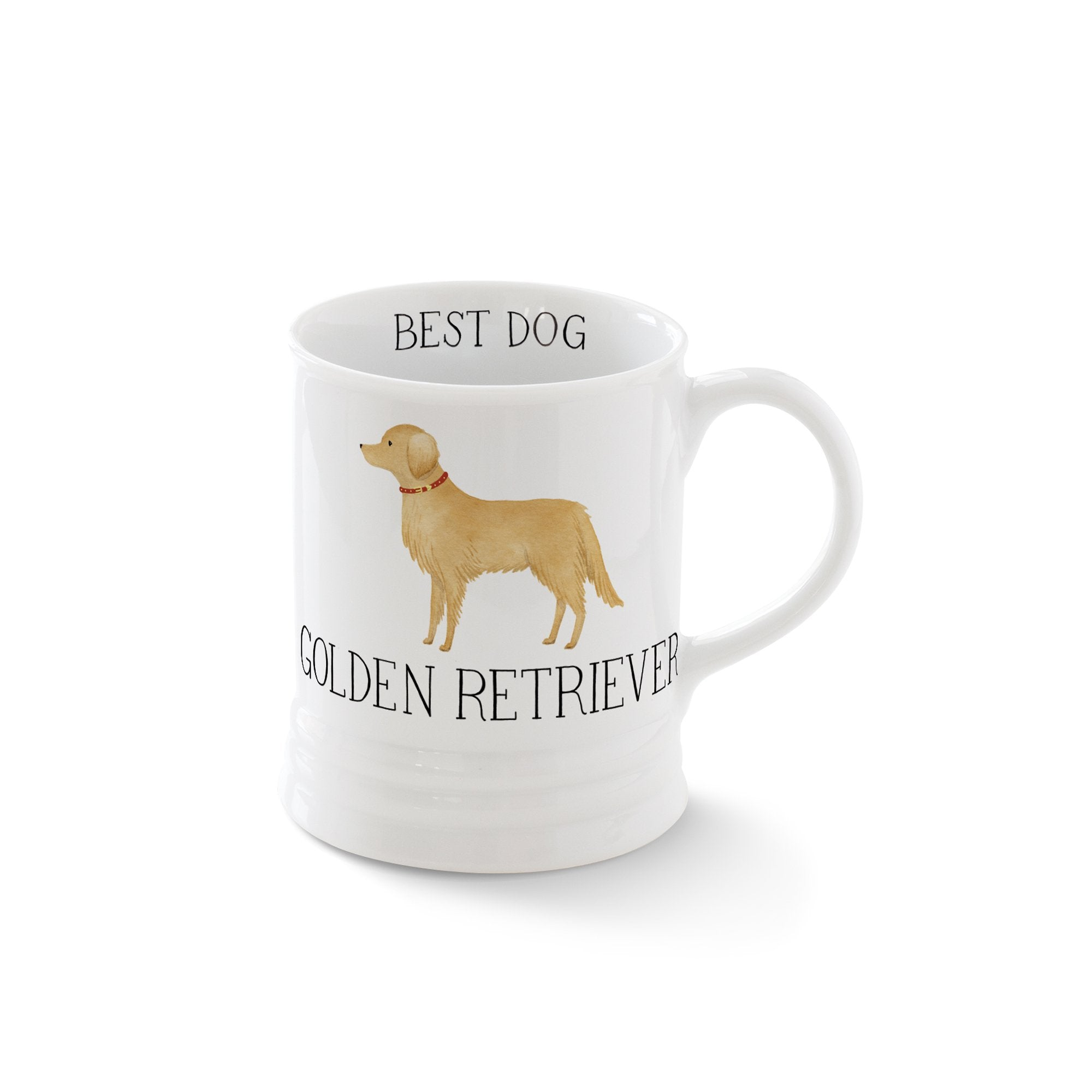 Golden Retriever Mug by Fringe Studio