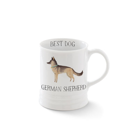 German Shepherd Mug by Fringe Studio