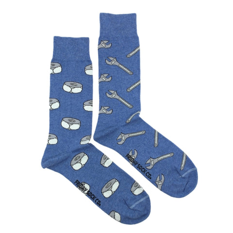 Wrench and Nuts by Friday Sock Co.