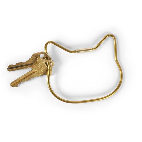Cat Keyring by Fred