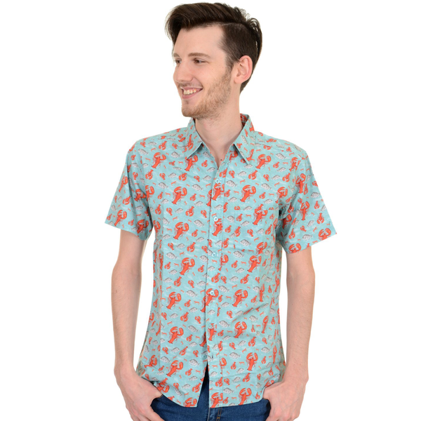 Lobster Shirt by Run and Fly