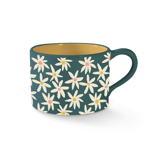 Daisies Morning Mug by Fringe Studio