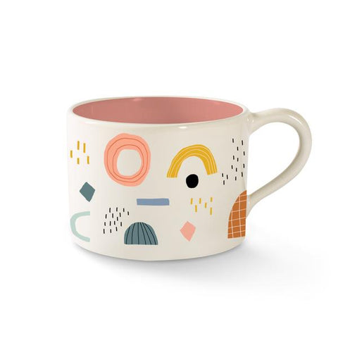 Shapes Morning Mug by Fringe Studio