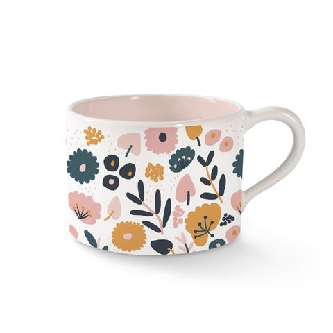 Floral Morning Mug by Fringe Studio