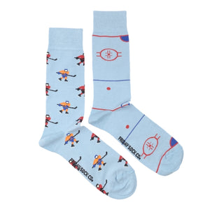 Hockey Player Rink by Friday Sock Co.