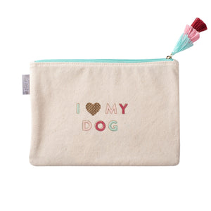 Love My Dog Pouch by Fringe Studio