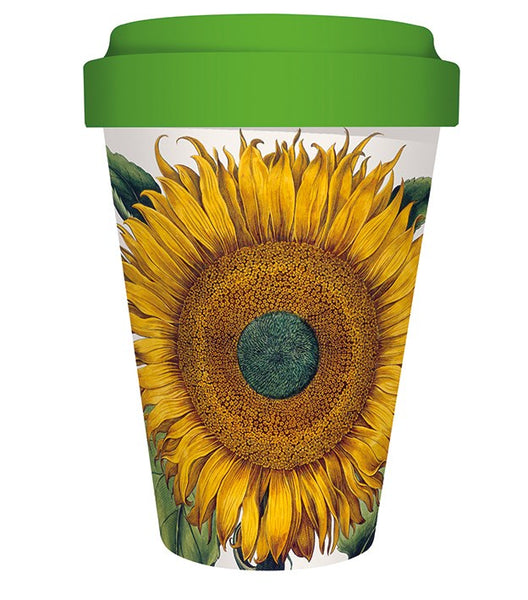 Sunflower Bamboo Travel Mug