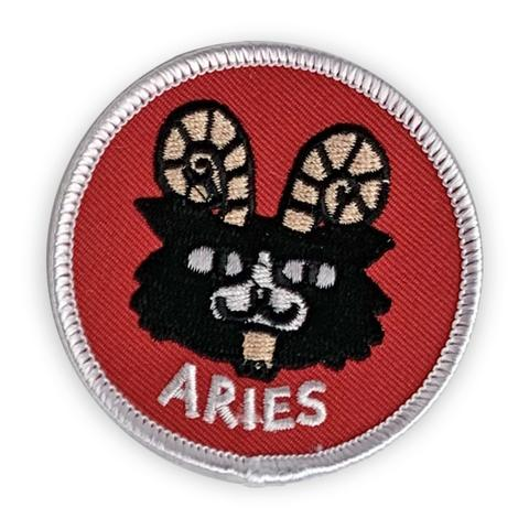Aries Catsrology Patch by Badge Bomb