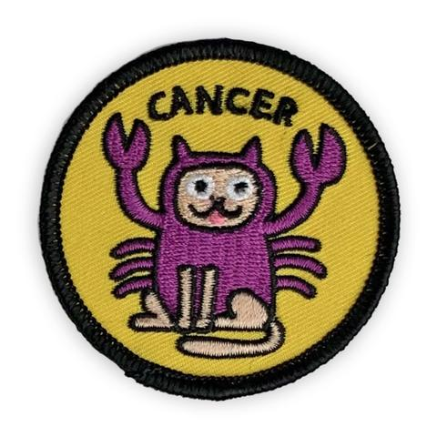 Cancer Catsrology Patch by Badge Bomb