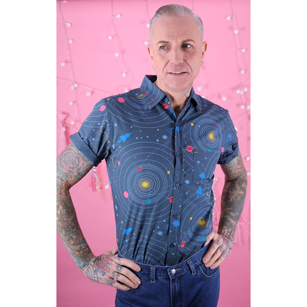 Solar System Shirt by Run and Fly