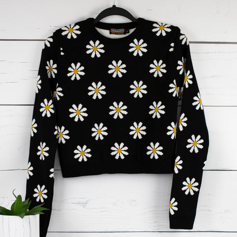 Daisy Cropped Jumper by Run and Fly
