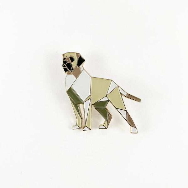 English Mastiff Dog Pin by FoldIT Creations
