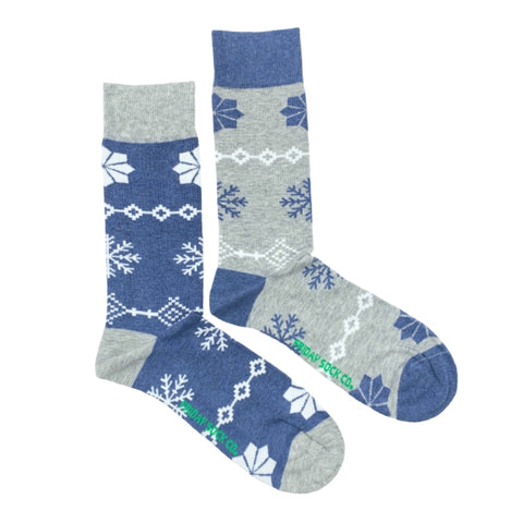 Christmas Snowflakes by Friday Sock Co.