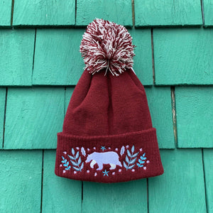 Botanical Bear Toque by Papio Press