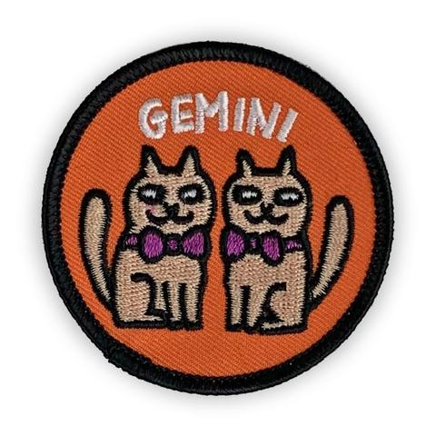 Gemini Catsrology Patch by Badge Bomb