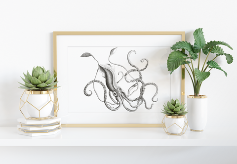 Giant Squid Art Print