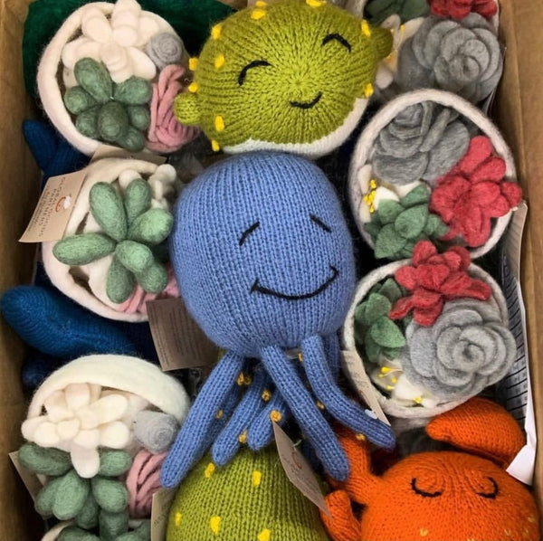 Octopus Stuffy by Global Goods