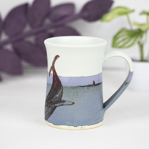 Kayak Mug With Whale, Jellyfish, Sea Turtle, and Seagull (5)