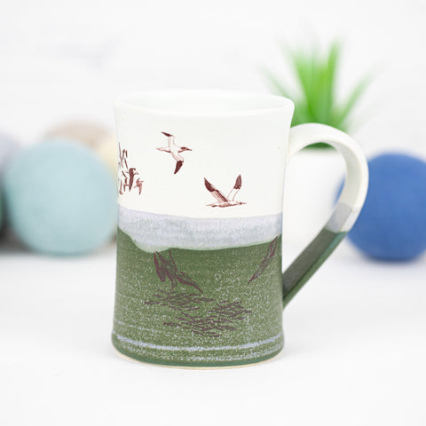 Kayak Mug with Seabirds (11)