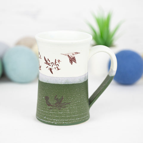 Kayak Mug with Seabirds (18)