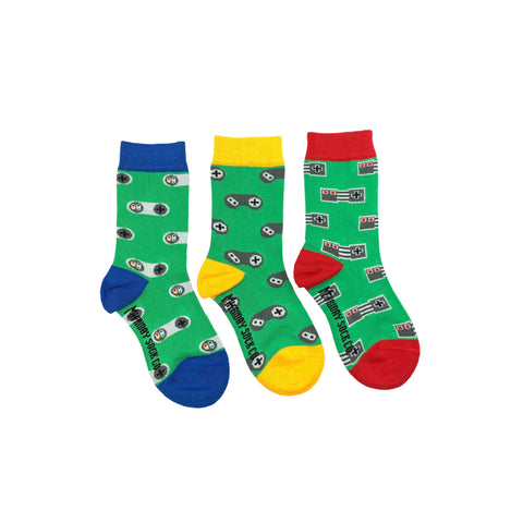 Kids Video Game Socks by Friday Sock Co.
