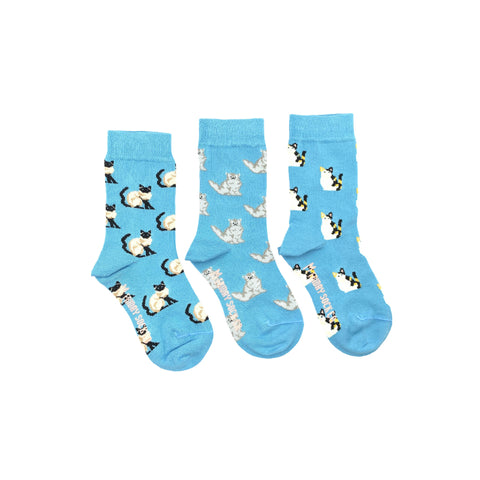 Kids Cat Socks by Friday Sock Co.