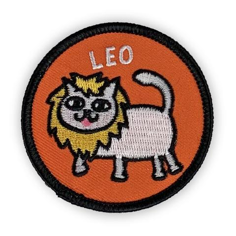 Leo Catsrology Patch by Badge Bomb