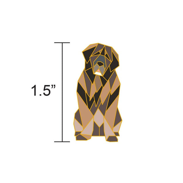 Leonberger Pin by FoldIT Creations