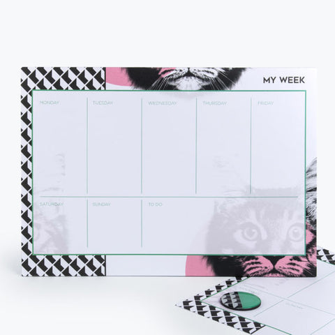 Cat Weekly Planner by Mustard