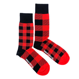 Red Plaid by Friday Sock Co.