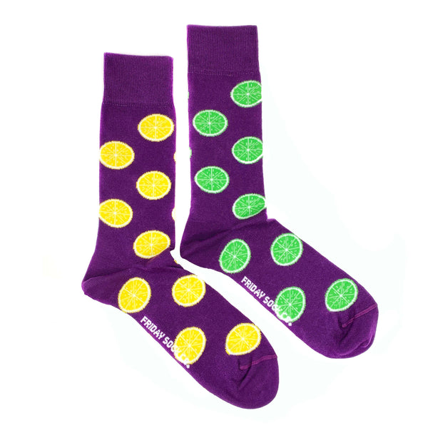 Lemon & Lime by Friday Sock Co.