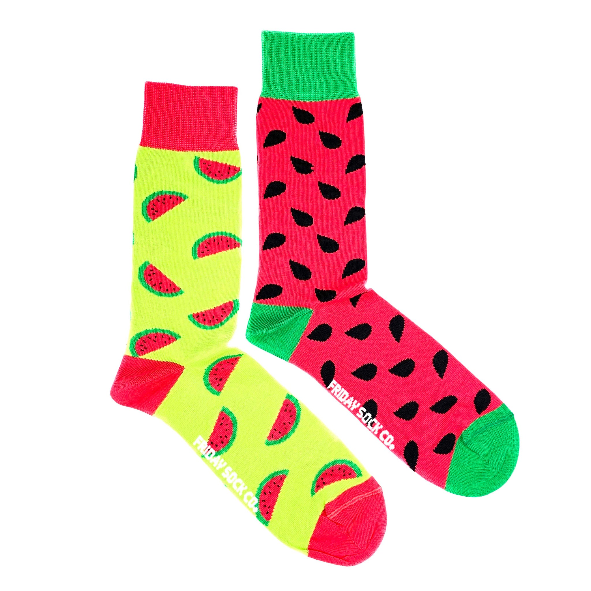 Watermelon by Friday Sock Co.
