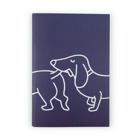 Dachshund A5 Notebook by U Studio