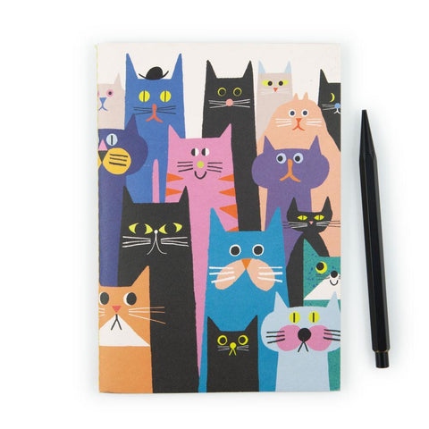 Cat Gang A5 Notebook by U Studio