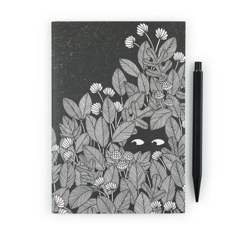 Observation At Night A5 Notebook by U Studio