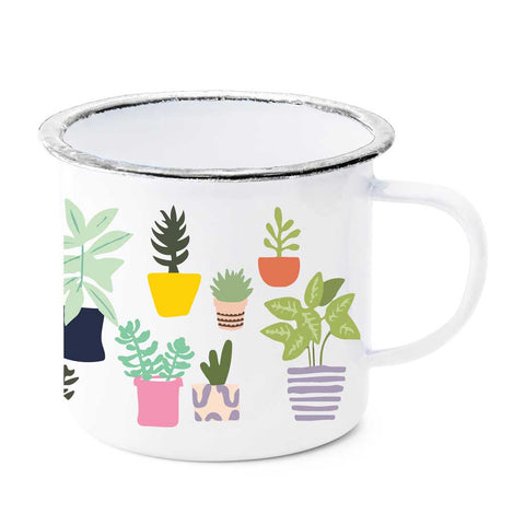 Potted Plants Mug by Potluck Press