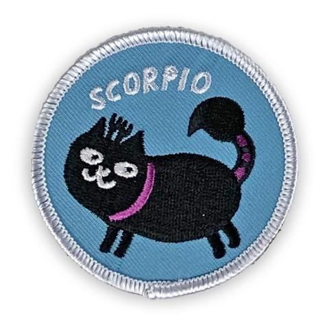 Scorpio Catsrology Patch by Badge Bomb