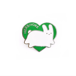 Herbivore Pin by Sparkle Collective