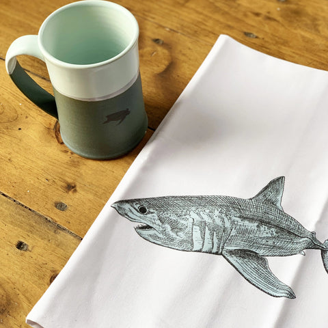Shark Tea Towel