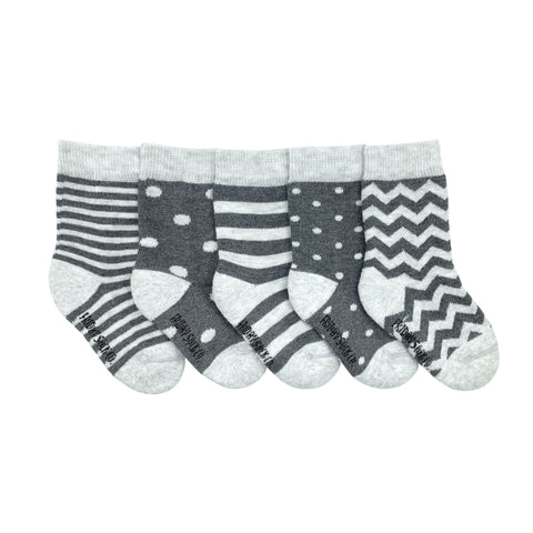 Baby Stripe & Dot Socks by Friday Sock Co.
