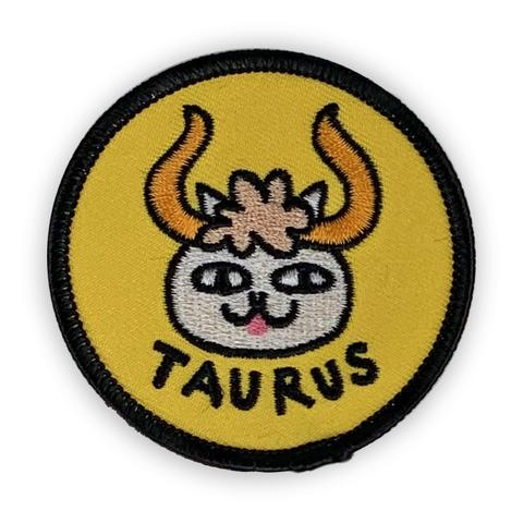Taurus Catsrology Patch by Badge Bomb