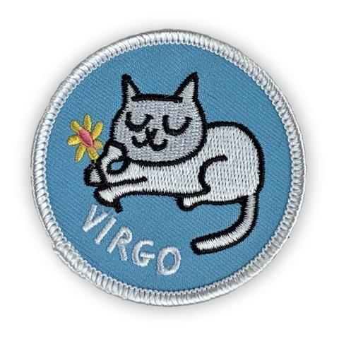 Virgo Catstrology Patch by Badge Bomb