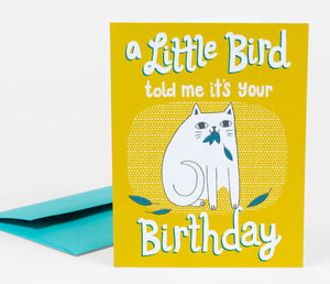 Little Bird Card by Allison Cole