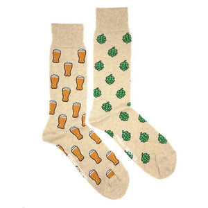 Beer & Hops by Friday Sock Co.