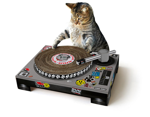 Cat Scratch Turntable by Suck UK