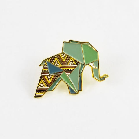 Elephant Pin by FoldIT Creations