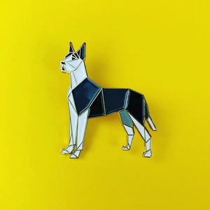Great Dane Pin by FoldIT Creations
