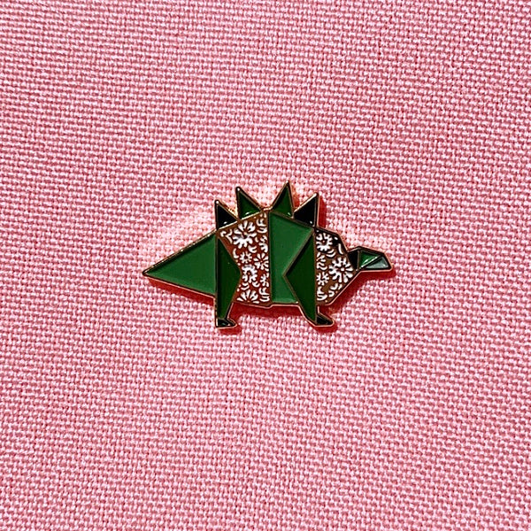 Stegosaurus Pin by FoldIT Creations