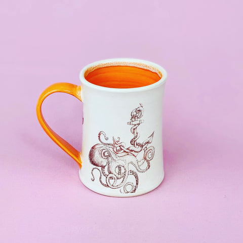 Octopus Anchor Mug by CUP